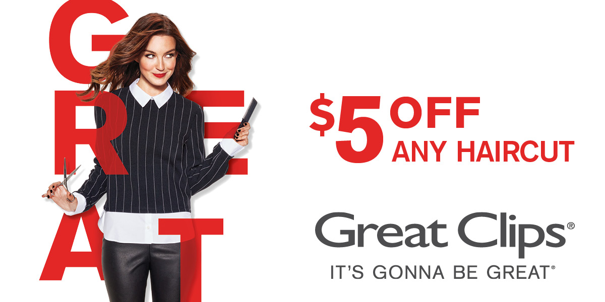 Great Clips Coupons $5 Off