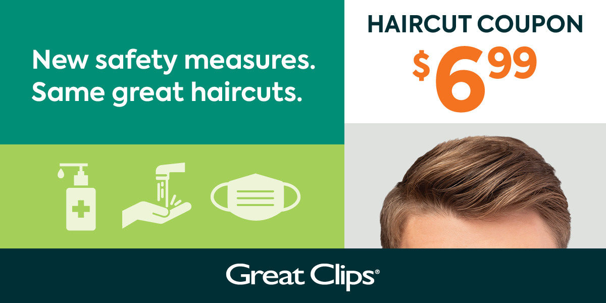 $6.99 Great Clips Coupon 2020